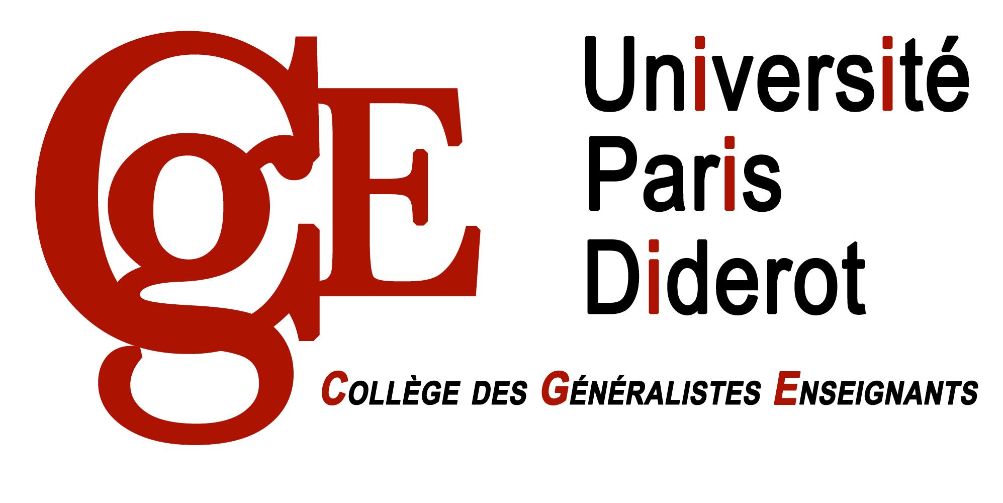 Collège des Généralistes Enseignants Université Paris Diderot